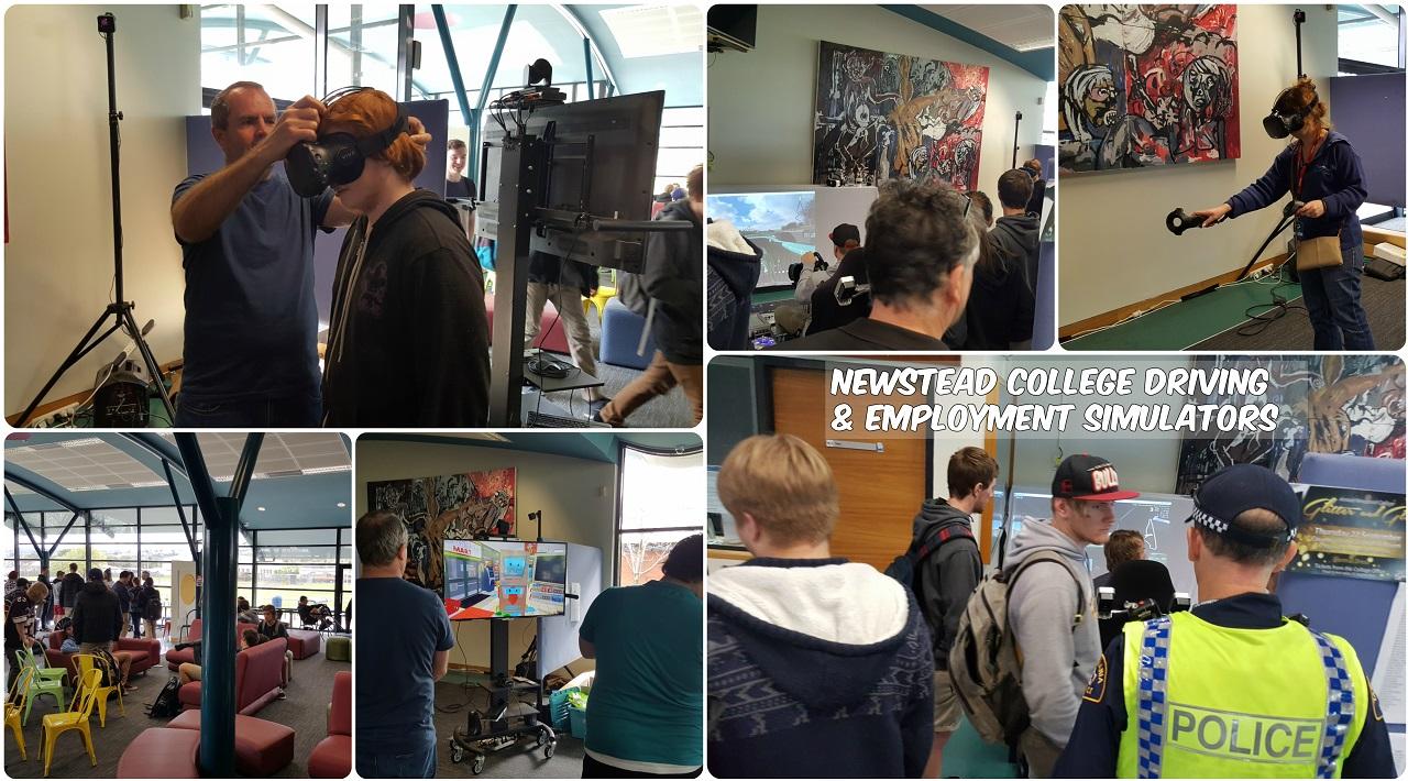 Newstead College simulators